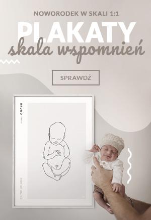 Personalizowane plakaty z serii Skala Wspomnień to coś więcej niż metryczka! To powrót do pierwszego spotkania z Twoim dzieckiem. Dzięki skali 1:1, ta wyjątkowa ilustracja, przypomni Ci o tym, jak małe było Twoje dziecko, gdy pojawiło się na świecie.